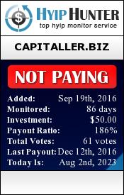ссылка на мониторинг http://hyiphunter.biz/details/lid/289