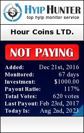 hyiphunter.biz - hyip hour coins